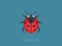 The JoyPixels Lady Beetle Emoji - Version 4.5