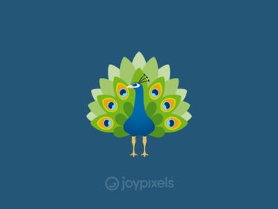The JoyPixels Peacock Emoji - Version 4.5