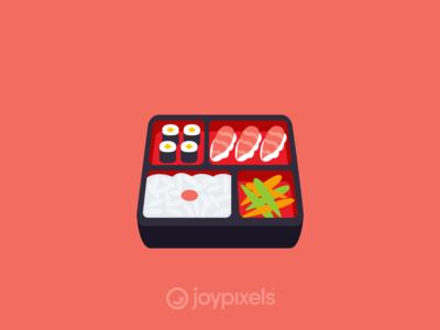 The JoyPixels Bento Box Emoji - Version 4.5