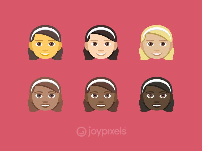The JoyPixels Girl Emoji - Version 4 5 by JoyPixels on Dribbble