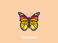 The JoyPixels Butterfly Emoji - Version 4.5