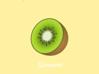 The JoyPixels Kiwi Emoji - Version 4.5