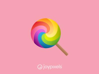 The JoyPixels Lollipop Emoji - Version 4.5