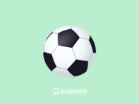 The JoyPixels Soccer Ball Emoji - Version 4.5