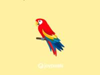 The JoyPixels Parrot Emoji - Version 4.5