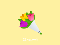 The JoyPixels Bouquet Emoji - Version 4.5