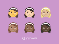 The JoyPixels Girl Emoji - Version 4.5