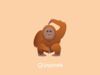 The JoyPixels Orangutan Emoji - Version 5.0
