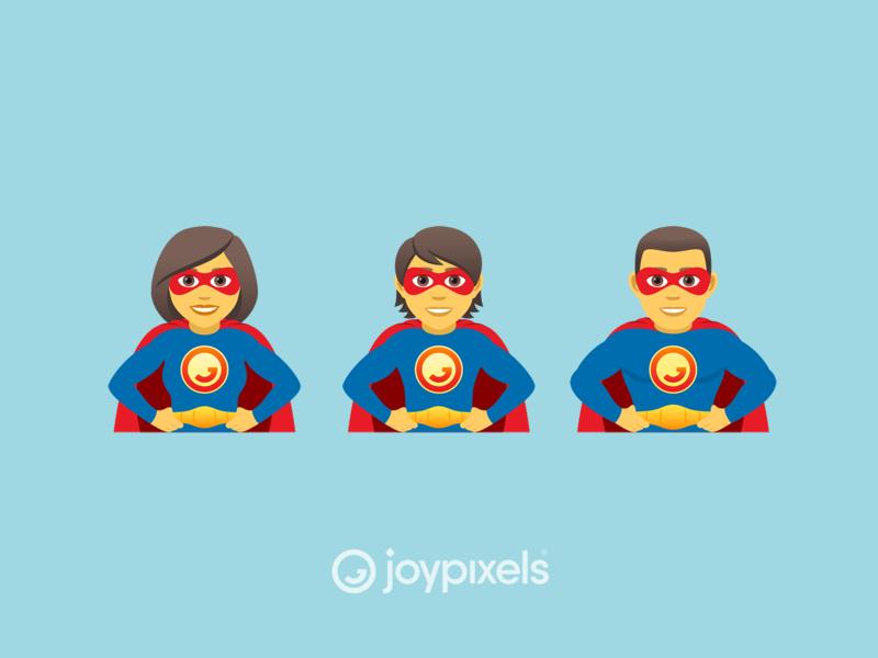 The JoyPixels Superheroes Emoji - Version 5 0 by JoyPixels
