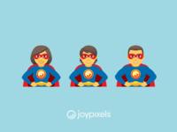 The JoyPixels Superheroes Emoji - Version 5.0