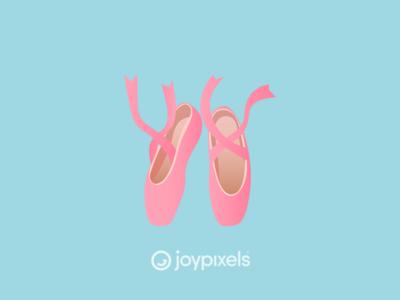 The JoyPixels Ballet Shoe Emoji - Version 5.0