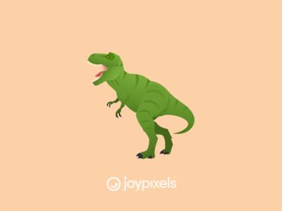 The JoyPixels T-Rex Emoji - Version 5.0