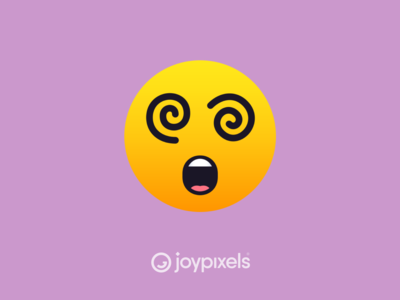 The JoyPixels Dizzy Face Emoji - Version 5.0