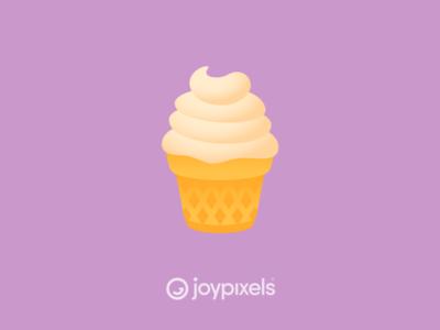 The JoyPixels Ice Cream Emoji - Version 5.0