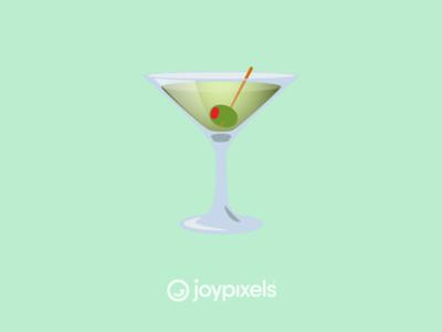 The JoyPixels Cocktail Glass Emoji - Version 5.0