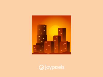 The JoyPixels Sunset Emoji - Version 5.0