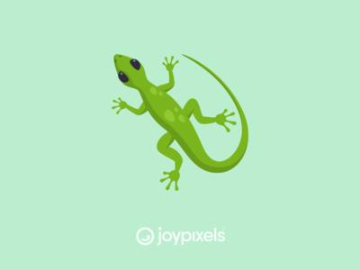The JoyPixels Lizard Emoji - Version 5.0