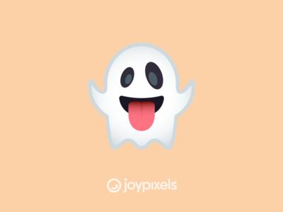 The JoyPixels Ghost Emoji - Version 5.0