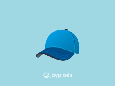 The JoyPixels Billed Cap Emoji - Version 5.0