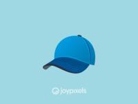 The JoyPixels Billed Cap Emoji - Version 5.0