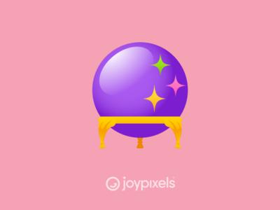 The JoyPixels Crystal Ball Emoji - Version 5.0