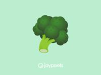 The JoyPixels Broccoli Emoji - Version 5.0