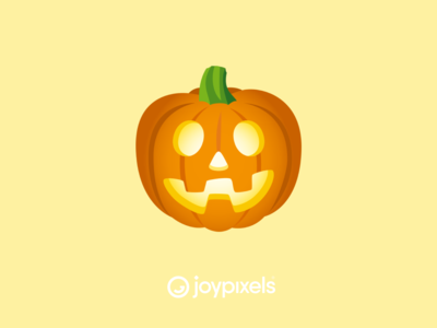 The JoyPixels Jack-o-Lantern Emoji - Version 5.0