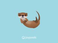 The JoyPixels Otter Emoji - Version 5.0