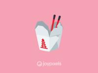 The JoyPixels Takeout Box Emoji - Version 5.0