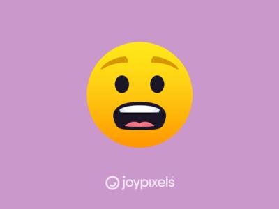 The JoyPixels Anguished Face Emoji - Version 5.0