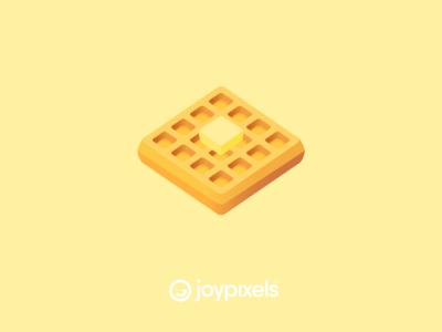The JoyPixels Waffle Emoji - Version 5.0