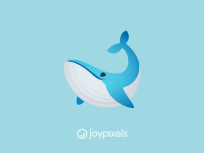 The JoyPixels Whale Emoji - Version 5.0