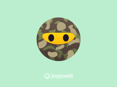 The JoyPixels Camo Face - All Smiles 1.0