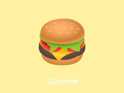 The JoyPixels Hamburger Emoji - Version 5.0