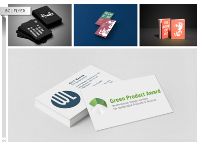 Business Cards, Flyer and Books