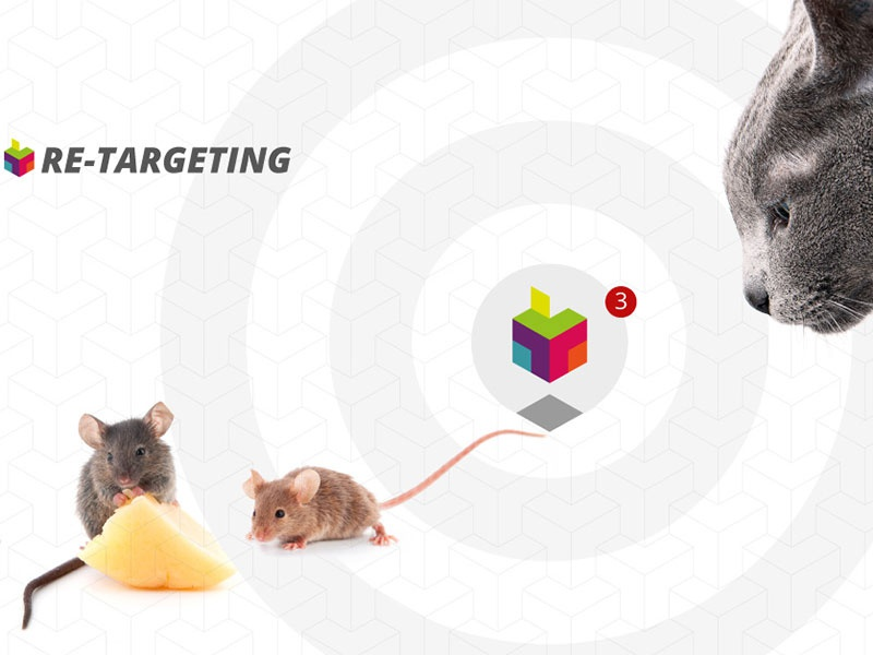 TT MEDIAlab - Concept 9 of X Thinking Retargeting strategy ux design brand art direction