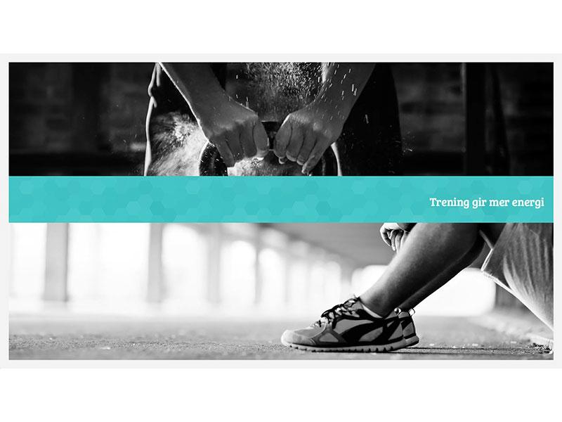 TRD Idrettsklinikk - physiotherapist website art direction concept design