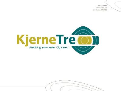 Kjernetre Final logo concept brand design