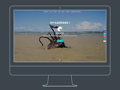 #åkerblå – KNOWLEDGE BASED MARINE HEALTH art direction design webdesign