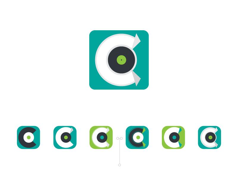 undisclosed sketch music logo brand design