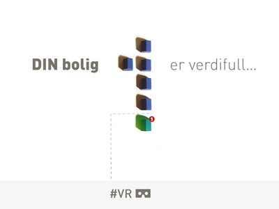 Real estate #VR concept