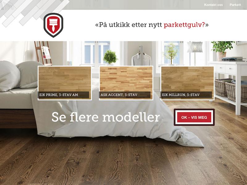 Andresen hardwood flooring flooring hardwood webdesign ui ux design art direction campaign