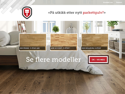 Andresen hardwood flooring flooring hardwood webdesign ui ux design art direction campaign