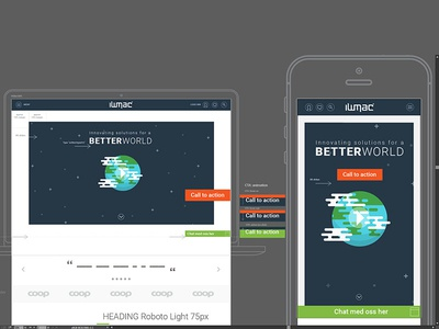 Iwmac interaction ui ux webdesign wireframe design