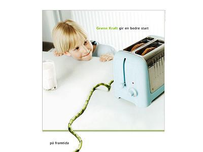 Trønderenergi campaign concept design art direction