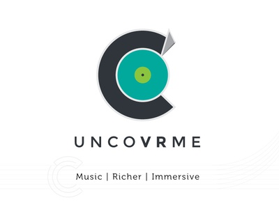 Uncovrme Brand iteration draft logo ux brand concept design art direction