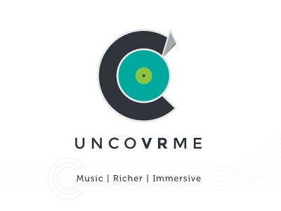 Uncovrme Brand iteration draft logo ux brand concept design art direction