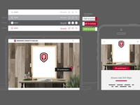 Website wireframe design prototype wireframe design web website