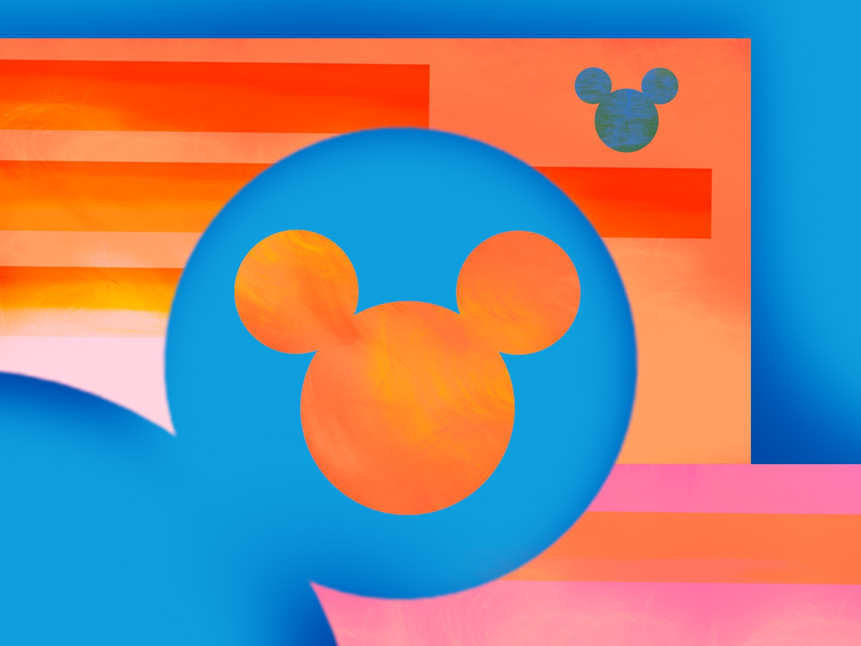 Hey Mickey art color photoshop branding disney disneyland digital art designer character graphic  design design pattern illustrator illustration graphic vector icon mickey mouse