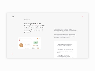 Blog Post Design — UX Quick Hits blog design web design ux ui